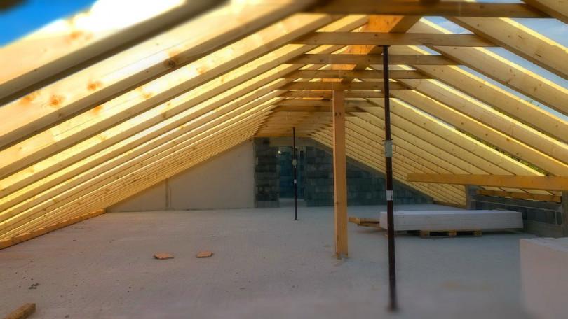 Крыша с мансардой