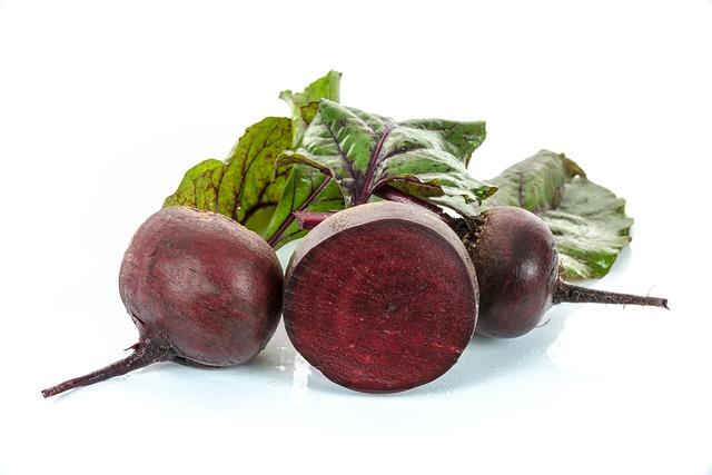 красная свекла, овощи, листва
