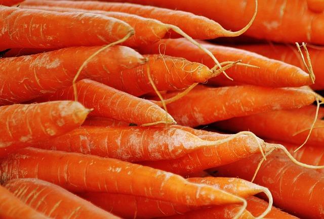 морковь, овощи, продовольственная