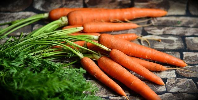 морковь, овощи, урожай